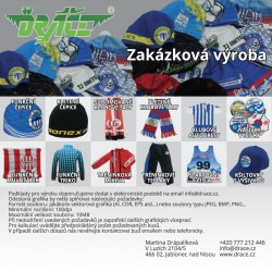 klubové bundy - vesty ukázka výroby