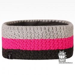 Čelenka pletená Rigi - vzor 02