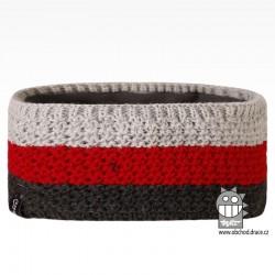 Čelenka pletená Rigi - vzor 03