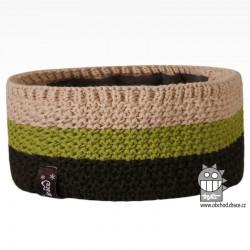 Čelenka pletená Rigi - vzor 05