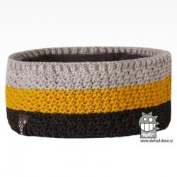 Čelenka pletená Rigi - vzor 06