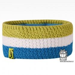 Čelenka pletená Rigi - vzor 08
