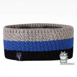 Čelenka pletená Rigi - vzor 11