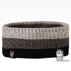 Čelenka pletená Rigi - vzor 12