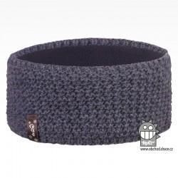 Čelenka pletená Rigi - vzor 22 - jeans