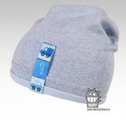 Bavlněná čepice Andy - vzor 01