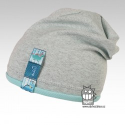 Bavlněná čepice Andy - vzor 02