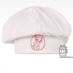 Bavlněný baret Máša - vzor 04