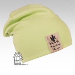 Pastels DOUBLE - vzor 04 - zelenkavá