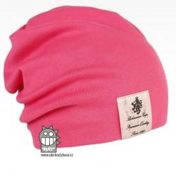Pastels double - vzor 35 - růžová neon