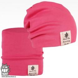 Pastels double set - vzor 35 - růžová neon