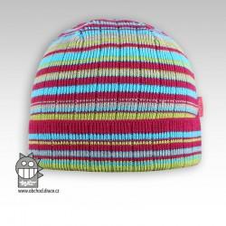 Čepice pletená Ráďa - vzor 01