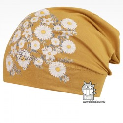 Bavlněná čepice Polo - vzor 02