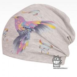 Bavlněná čepice Polo - vzor 04