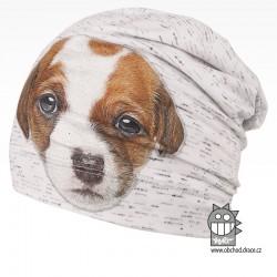 Bavlněná čepice Polo - vzor 08