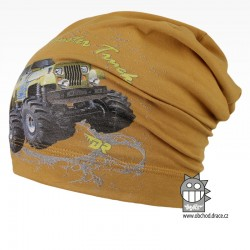 Bavlněná čepice Polo - vzor 10
