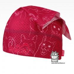 Funkční lehoučký šátek Sofie na jaro a léto - vzor 18