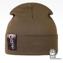 York Bavlněná čepice - vzor 09 - khaki zelená