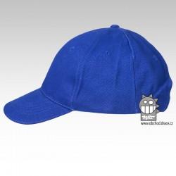 Kšiltovka dětská 6P - vzor 04 modrá královská