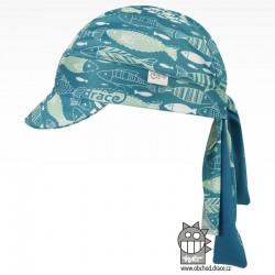 Funkční vzdušný šátek pirát kšilt - vzor 05