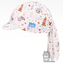 Funkční vzdušný šátek pirát kšilt - vzor 07