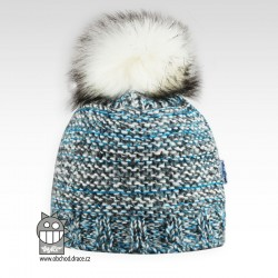 Čepice pletená Nikol - vzor 01