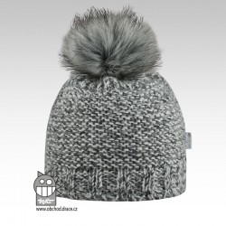 Čepice pletená Nikol - vzor 04