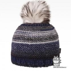 Čepice pletená Olivia - vzor 08