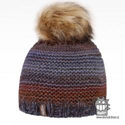 Čepice pletená Olivia - vzor 14