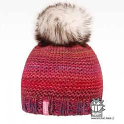 Čepice pletená Olivia - vzor 16
