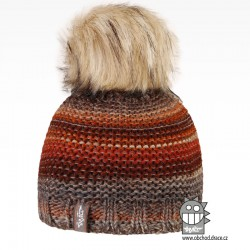 Čepice pletená Olivia - vzor 17