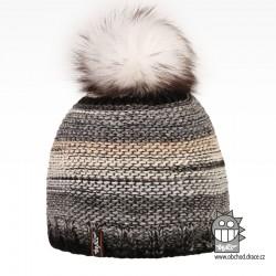 Čepice pletená Olivia - vzor 20