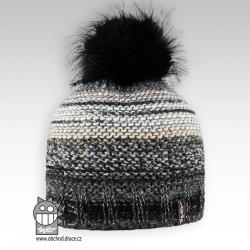 Čepice pletená Olivia - vzor 06