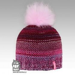 Čepice pletená Olivia - vzor 05