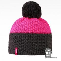 Čepice pletená Swiss - vzor 05