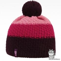 Čepice pletená Swiss - vzor 16