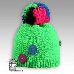 Čepice pletená Vanessa - vzor 01