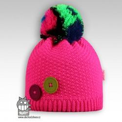 Čepice pletená Vanessa - vzor 04