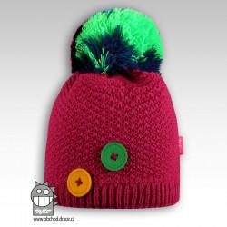 Čepice pletená Vanessa - vzor 06