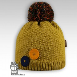 Čepice pletená Vanessa - vzor 07