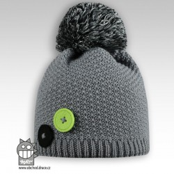 Čepice pletená Vanessa - vzor 08