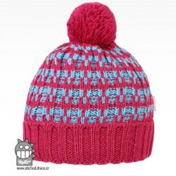 Čepice pletená albi - vzor 07