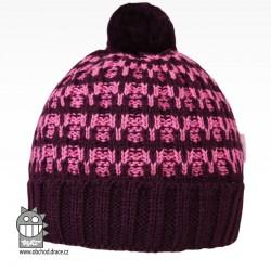 Čepice pletená albi - vzor 06