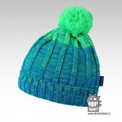 Čepice pletená albi - vzor 01