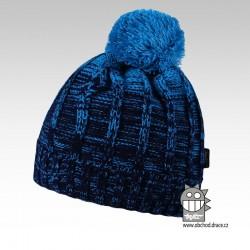 Čepice pletená albi - vzor 02