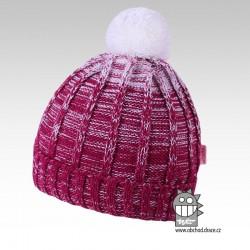Čepice pletená albi - vzor 04