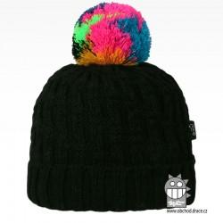 Čepice pletená Berti - vzor 07