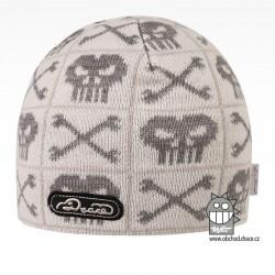 Čepice pletená Classic - vzor 44