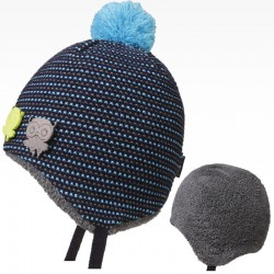 čepice pletená Elsa - vzor 09
