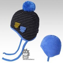 čepice pletená Elsa - vzor 01